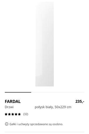 Dzwi FARDAL do szafy PAX 50x229