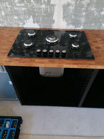 Instalacja, montaż płyt, indukcji, kuchenek, elektryk, gazownik.
