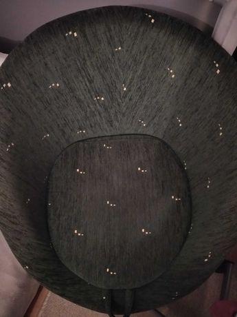 Fotel ciemnozielony
