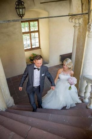 Suknia ślubna Model CLIO. Podobna do sukni ślubnej Anny Lewandowskiej