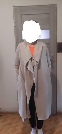płaszcz flauszowy S/M
