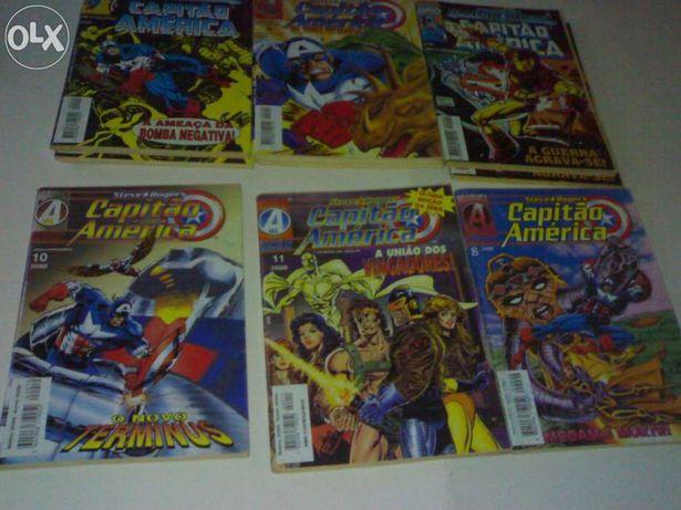 """Coleção Abril Control Jornal """"Capitão America"""""""