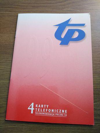 Katalog kart telefonicznych z 1999 roku
