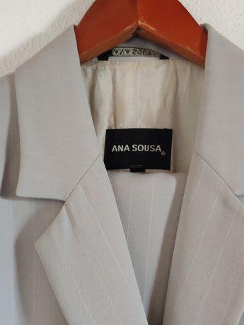 Conjunto clássico casaco e calça