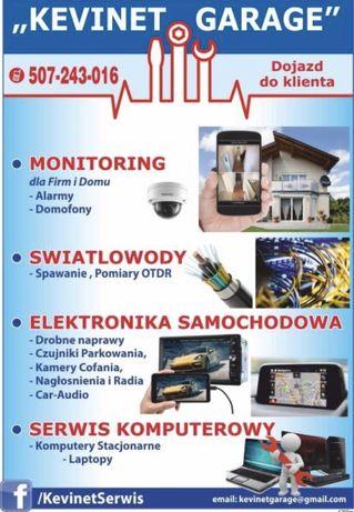 Monitoring , Kamery Przemyslowe, Przedszkole, Żłobki. Warsztaty, Sklep