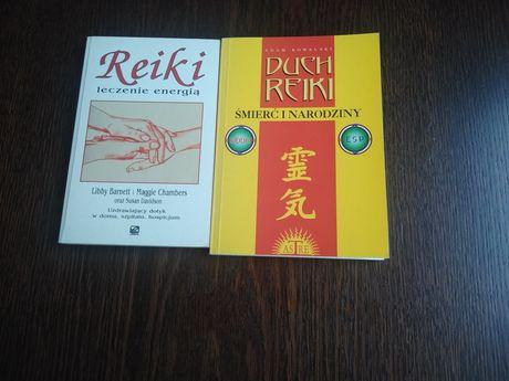 Zestaw książek o Reikach