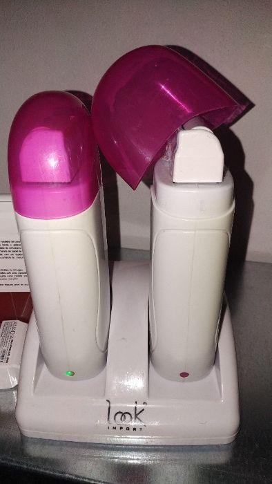 Vendo máquinas depilatorias+ceras+espátulas+rolo depilatório Oliveira do Douro - imagem 1