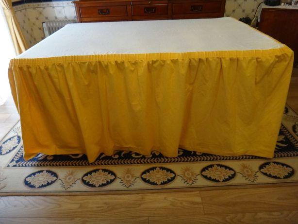3 capas decorativas tecido para mesas de festas (ver medidas e foto )