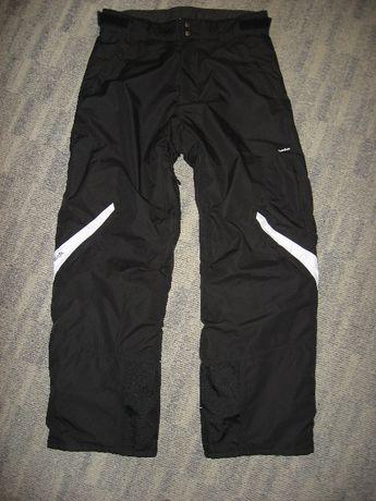 Męskie spodnie narciarskie snowbordowe WEDZE Pull'fit Novadry Jak nowe