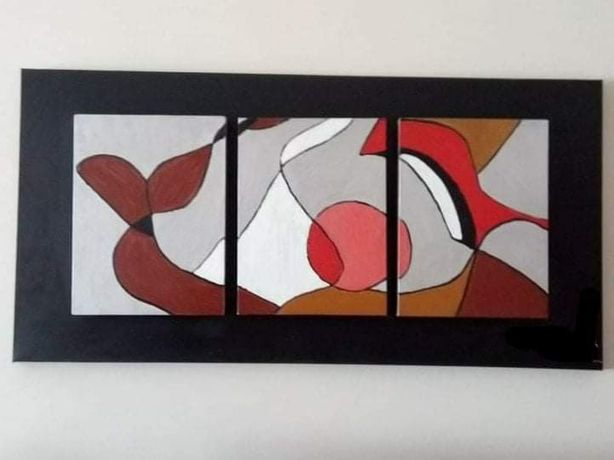 Pintura abstrata (usada)