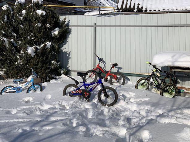 Клевый лёгкий детский велосипед