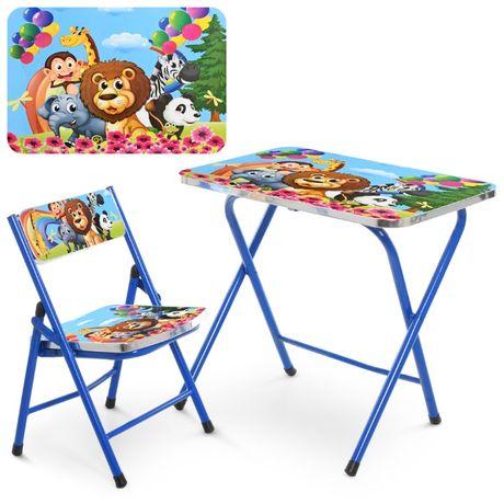 Детский складной столик М0101 со стульчиком