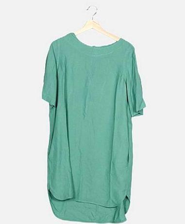 Vestido verde Uterque