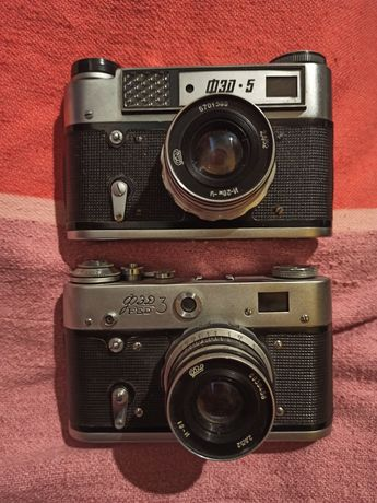 Фотоаппарат ФЭД 3 и ФЭД 5