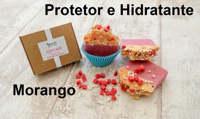 Sabonete 100% natural Morango ou Chocolate