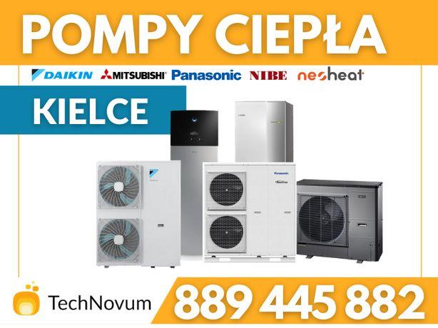 Pompa ciepła CO Panasonic Daikin 120m2 Nibe Daikin Montaż CWU klima