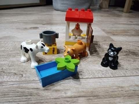Lego duplo zwierzeta wiejskie