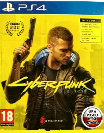 Gra ps5 PS4 cyberpunk