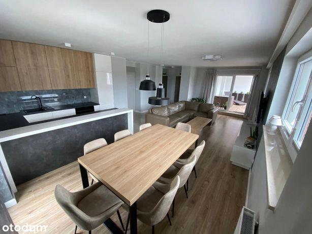 Nowoczesny apartament, w pełni wyposażony, loggia