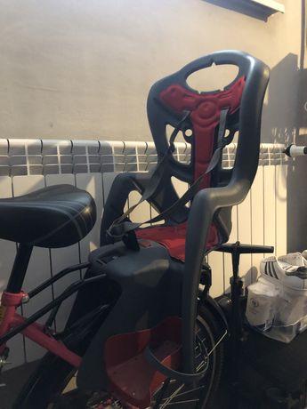 fotelik rowerowy dziecięcy na bagażnik