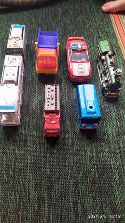 Автопарк машин разные