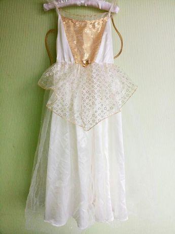Платье звездочки, платье ангела 7-8 лет