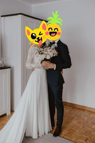 Suknia ślubna Gala Bymako +tren