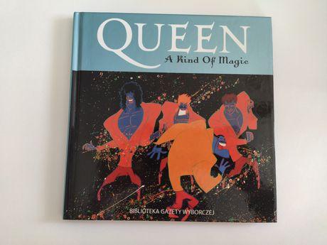 Queen - A kind of magic, CD + książka, OST filmu Highlander