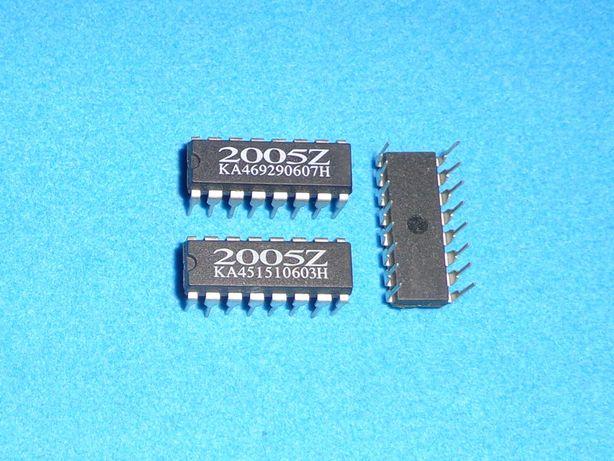 Микросхема 2005Z. ШИМ, корпус DIP-16. Новая.