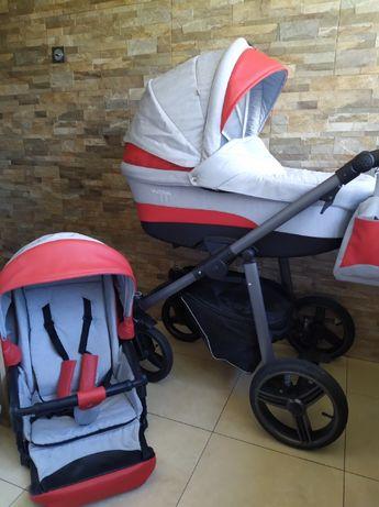 Wózek dziecięcy Bebetto Vulcano 2w1 Gondola Spacerówka
