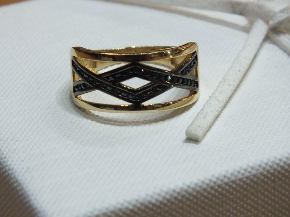 **Nowy złoty pierścionek 3,36g p.585-Lombard Stówka** Grudziądz - image 1