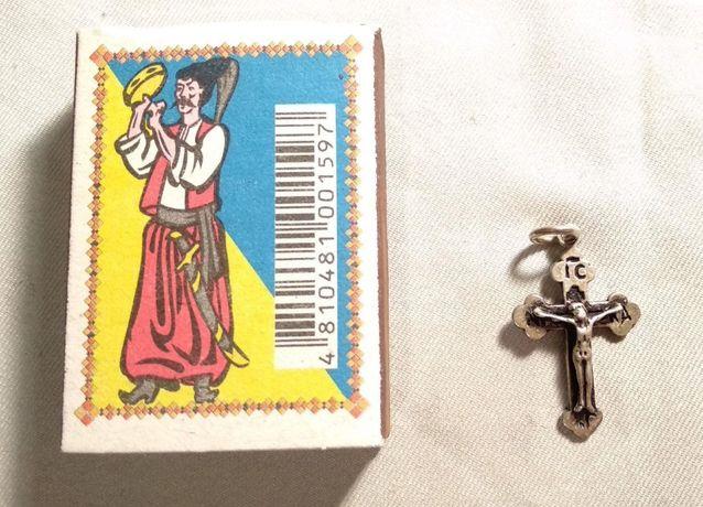 Серебряный крестик, 925 пр.