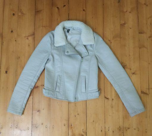 Дитяча куртка із екошкіри