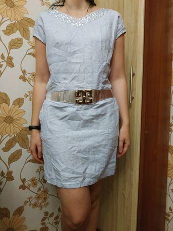 Плаття для дівчини льон лляне xxl (175/96а)