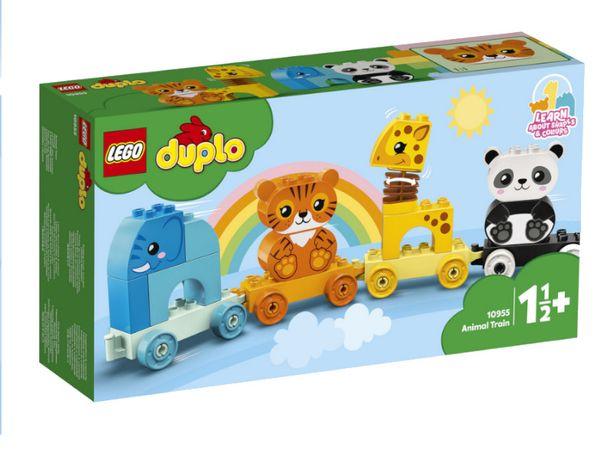 Klocki LEGO DUPLO Pociąg Ze Zwierzątkami 10955