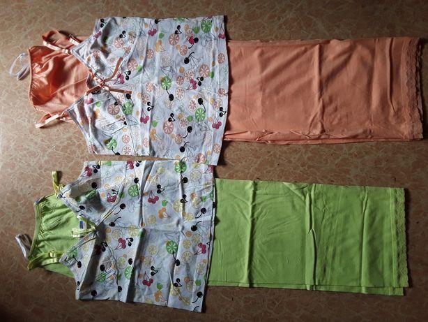 Пижама для девочек летняя