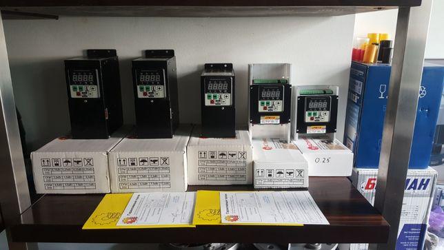 Преобразователь частоты частотник в сеть 220В и 380В от 0,12 до 110кВт