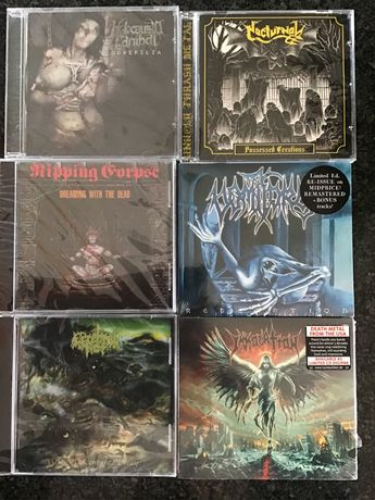 Immolation, Vomitory, Ripping Corpse, Nocturnal, Holocausto Canibal