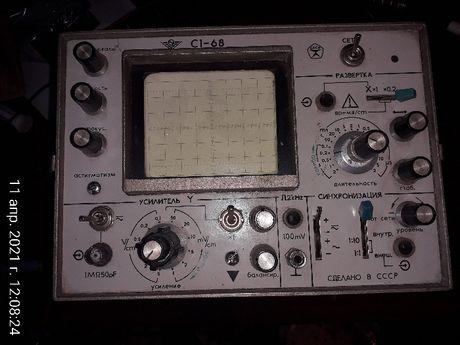 Продается осциллограф С1-68 не рабочий, на запчасти.