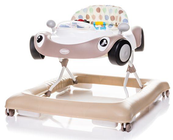4 BABY Interaktywny chodzik jeździk samochód