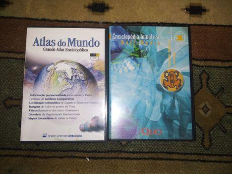 Pack DVD Atlas do Mundo - Porto Editora+Enciclopédias