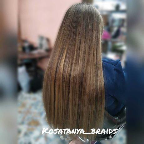 Афронаращивание волос, наращивание искусственных волос