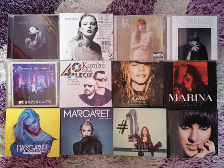 Płyty CD: Beyonce, Taylor Swift, Shakira, Ewa Farna, Margaret i inne