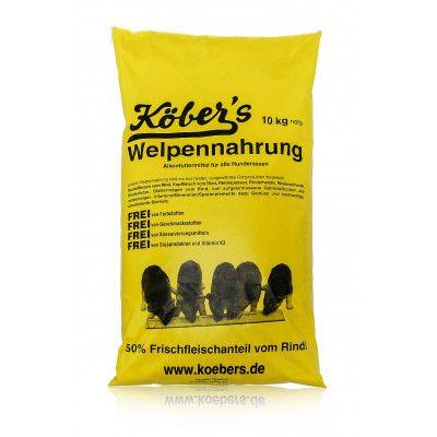 Niemiecka Sucha Karma Koebers 50% mięsa dla szczeniąt 10kg