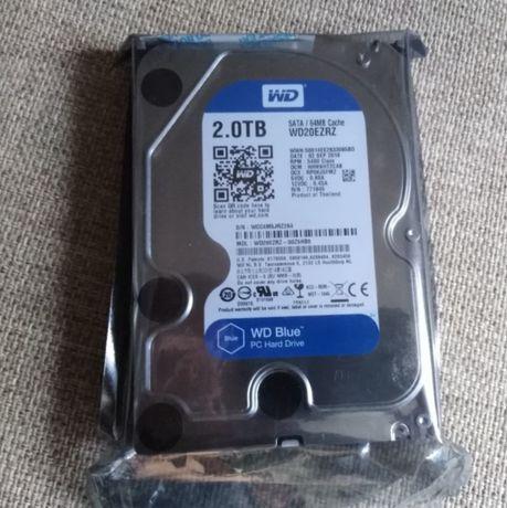 Новый жесткий диск WD Blue 2 Tb