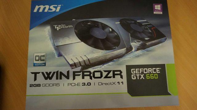 Видеокарта MSI PCI-Ex GeForce GTX 660 TF 2GB GDDR5