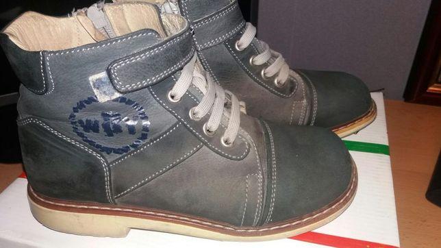 Продам ботинки на мальчика фирма Woopy orthopedic.