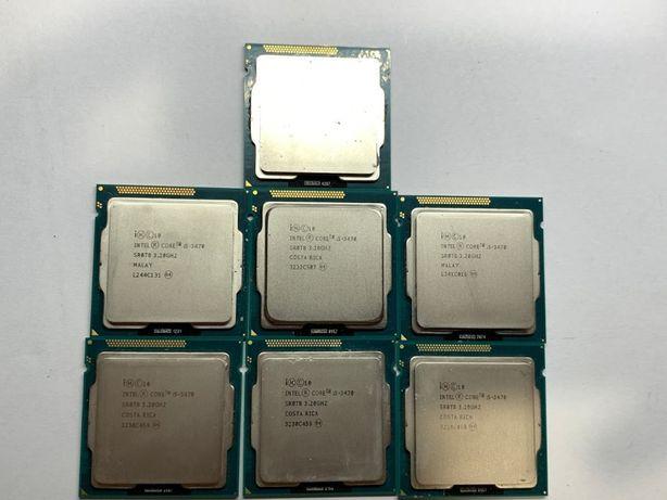 Процессор Intel Core i5 3470 4 ядра 4 потоки по 3.2(3.6)GHz s1155 бу