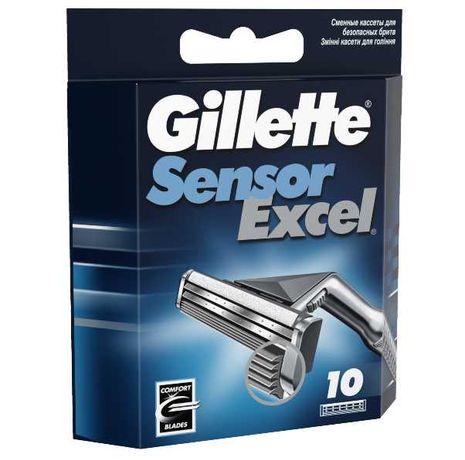 Змінні картриджі для гоління Gillette Sensor Excel 10 шт.