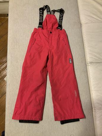 Spodnie narciarskie BRUGI 116 / 122 cm